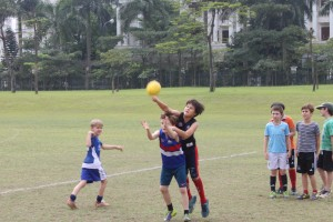 Next generation of Francis' and Lucardie's enjoying Hanoi Auskick