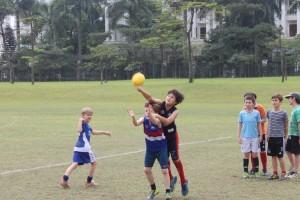 Next generation of Francis' and Lucardie's enjoying Hanoi Auskick