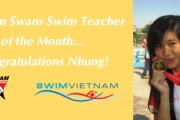 Vietnam Swans Swim Teacher of the Month – August 2015