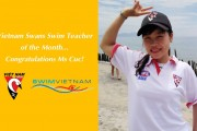 Vietnam Swans Swim Teacher of the Month – June!