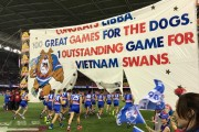 Swans Emergency Gets Recognised on Round 2 AFL Banner For Some Reason