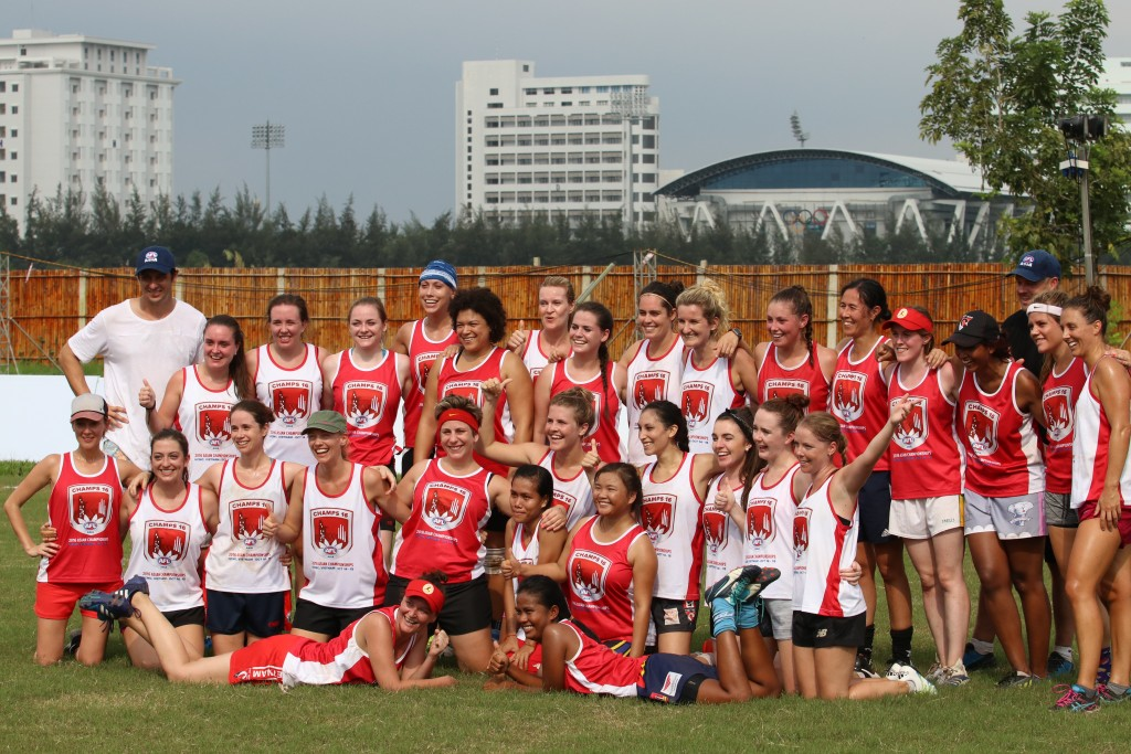 The momentus first ever Women's AFL Asian game at the 2016 Champs in Ho Chi Minh City is seeing follow up success with many AFL Asia Clubs launching their sister clubs ahead of the first Asian Champs Women's trophy being contested later this year.