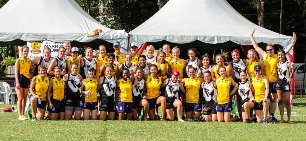 AFLW Vietnam Swans Malaysian Warriors 1