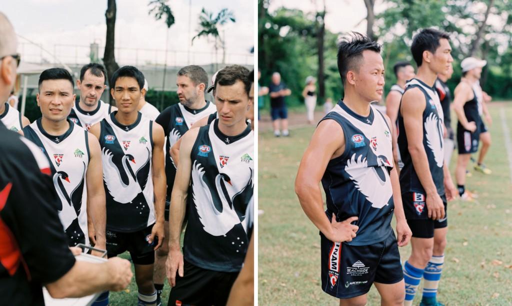 Dang and Dinh Anh Represent Vietnam AFL