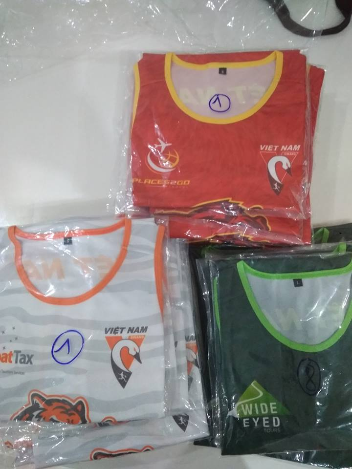 Vietnam Saigon AFL X uniform designs