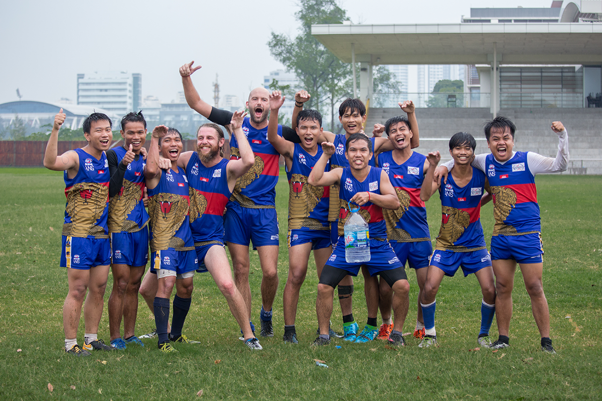 Cambodian Cobras at Saigon AFLX