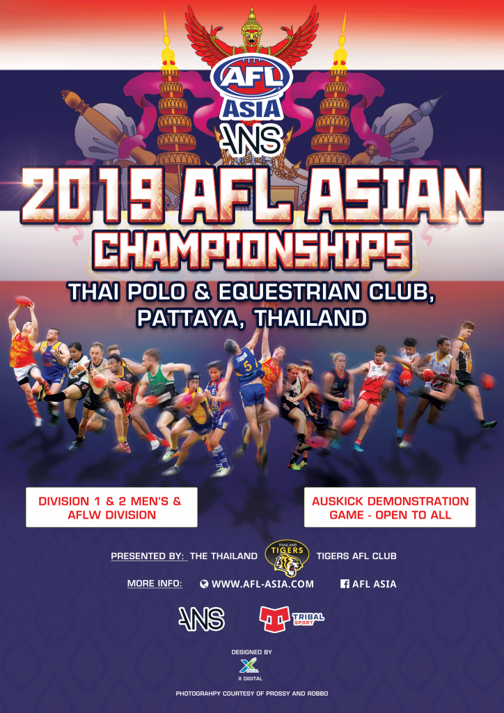 Asian Champs 2019 promo poster