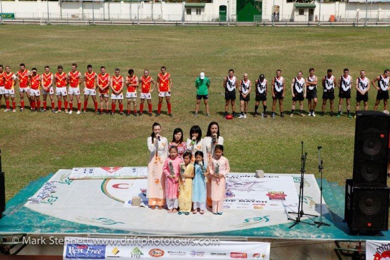 2012 ANZAC Friendship Match Vietnam Swans