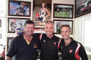 Glenn Nolan and Ten Years of ANZAC Friendship Matches