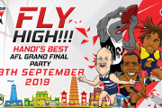 2019 AFL Grand Final Party in Hanoi