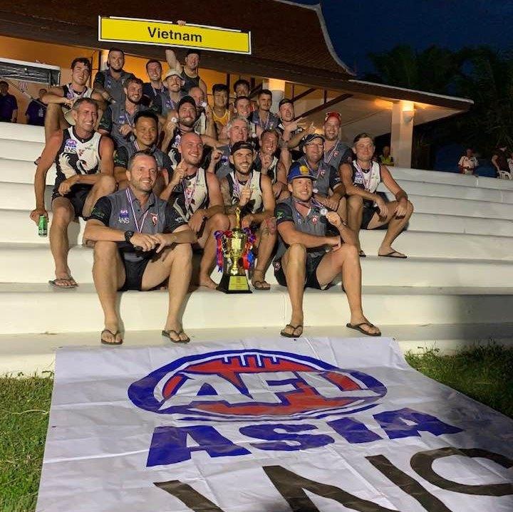 Vietnam Swans AFL Asian Champions Division 2 2019