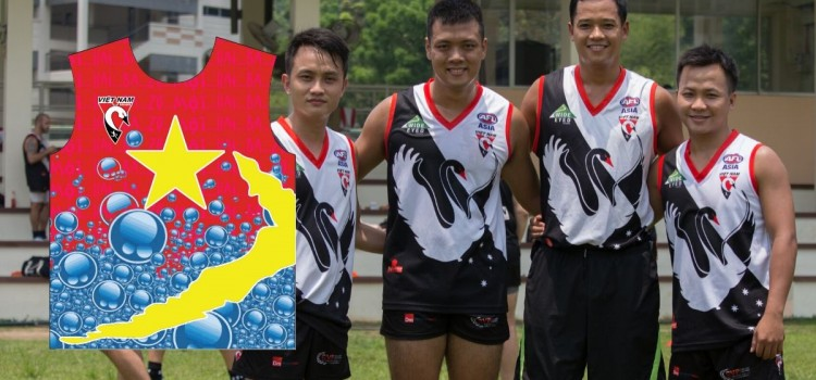 All Vietnamese AFL Footy Team Launched for AFLX Hanoi!