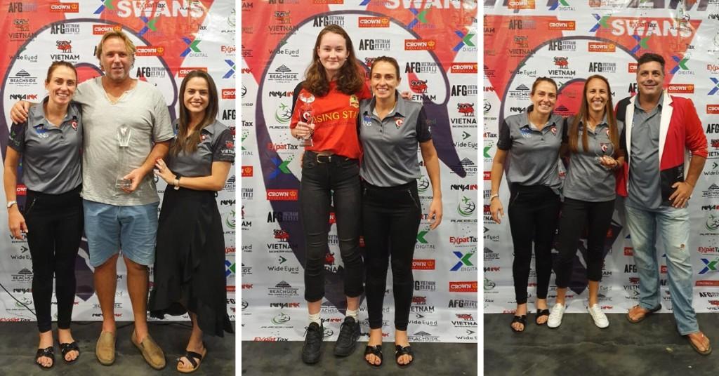 2019 Lady Swans Trophy Winners
