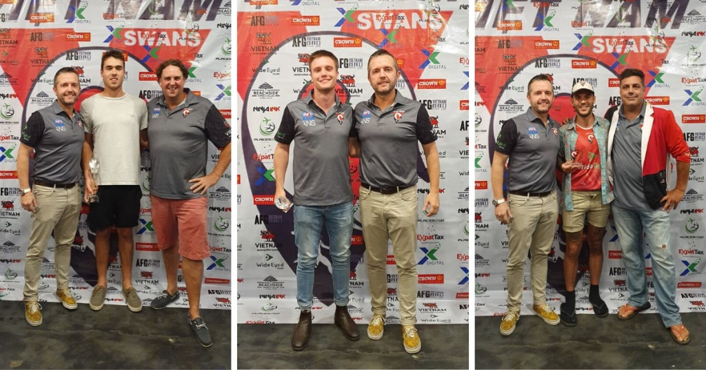 2019 Swans Trophy Winners