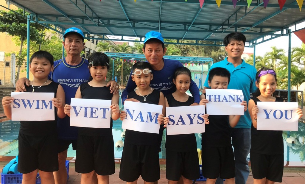 Swim Vietnam Thank You