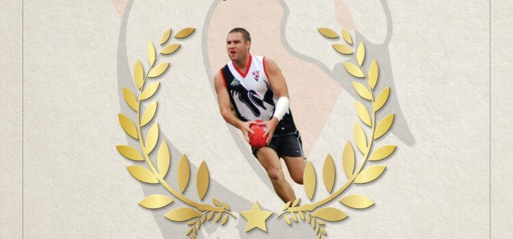 Billy Crang Inducted to Swans Hall of Fame